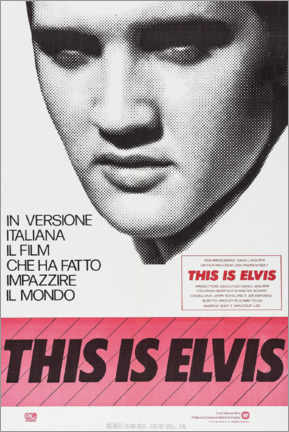 Poster Premium  This is Elvis - Entertainment Collection