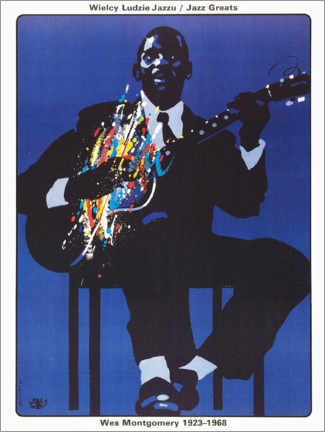 Poster Premium  Wes Montgomery 1923 - 1968 - Entertainment Collection