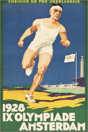 Poster Premium  IX. Olympiade 1928 - Entertainment Collection