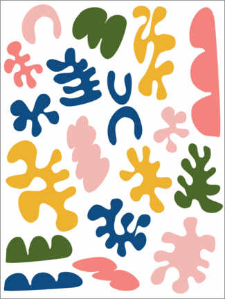 Poster Premium  Matisse New Age - apricot and birch