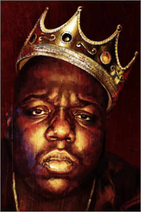 Stampa su tela  Biggie Smalls - Dmitry Belov