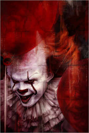 Poster Premium Pennywise