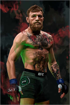 Poster Premium  Conor McGregor - Dmitry Belov