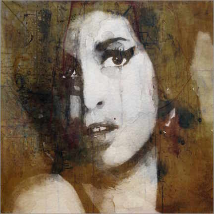Poster Premium  Amy Winehouse - Paul Lovering