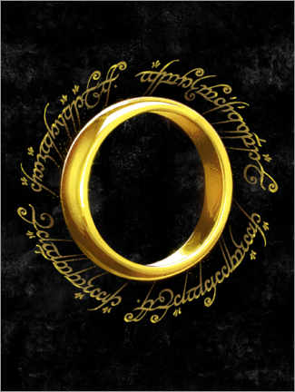 Stampa su schiuma dura  The One Ring - Nikita Abakumov