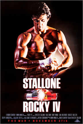 Poster Premium  Rocky IV - Entertainment Collection