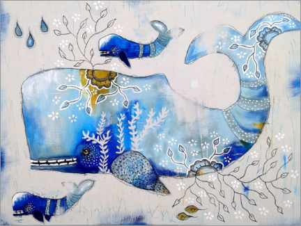 Poster Premium Of whales and fairytales