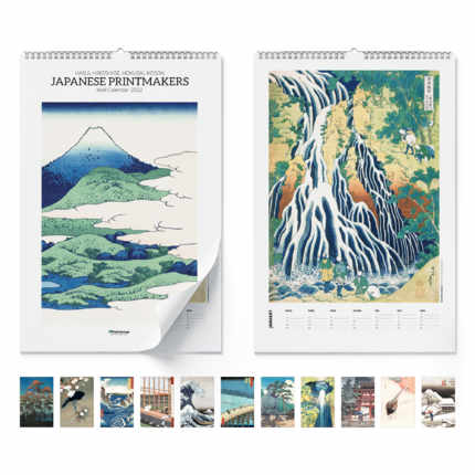 Calendario da muro  Japanese printmakers 2021