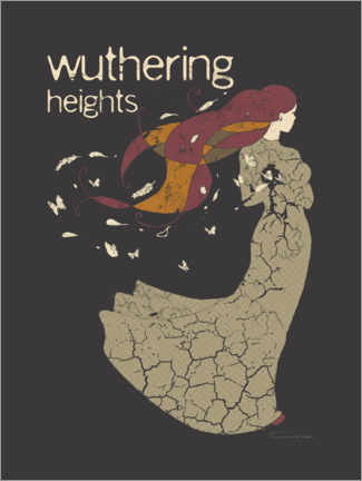 Poster Premium Wuthering Heights