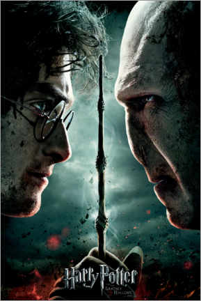 Poster Premium  The Deathly Hallows II (Harry Potter e i Doni della Morte - Parte 2)