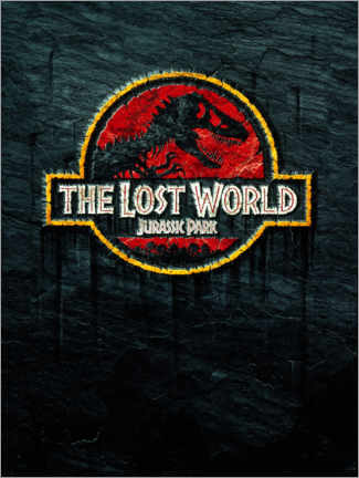 Poster Premium  The Lost World - Jurassic Park (Il mondo perduto)