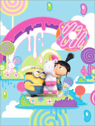 Stampa su tela  Super Silly Fun Land