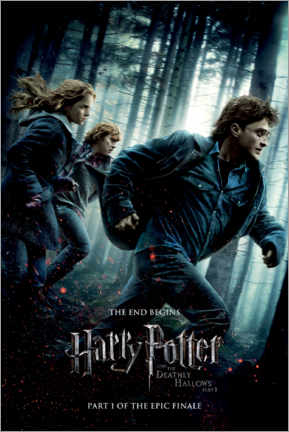 Poster Premium  The Deathly Hallows I (Harry Potter e i Doni della Morte - Parte 1)