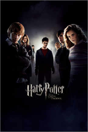Poster Premium  Harry Potter and the Order of the Phoenix (Harry Potter e l'ordine della fenice)