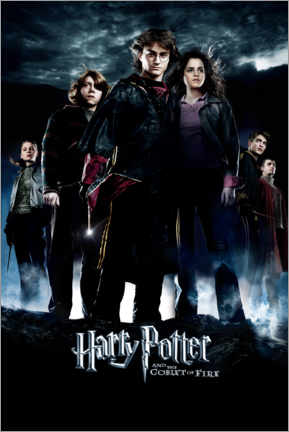 Poster Premium  Harry Potter and the Goblet of Fire (Harry Potter e il calice di fuoco)