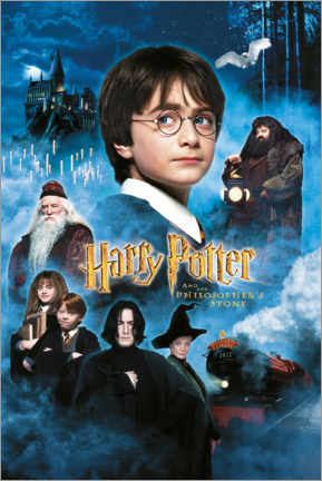 Poster Premium  Harry Potter and the Philosopher's Stone (Harry Potter e la pietra filosofale)