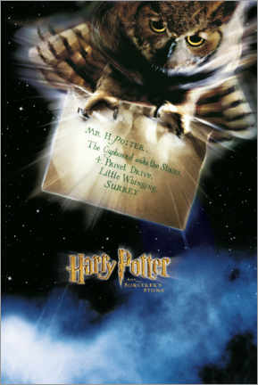Poster Premium  The Philosopher's Stone (Harry Potter e la pietra filosofale)