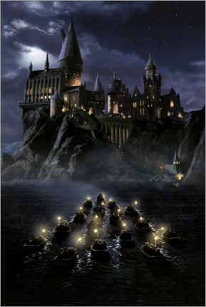 Poster Premium  Harry Potter and the Philosopher's Stone, Hogwarts