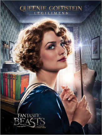 Stampa su legno  Fantastic Beasts and Where to Find Them - Queenie Goldstein
