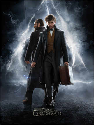 Stampa su vetro acrilico  Fantastic Beasts: The Crimes of Grindelwald
