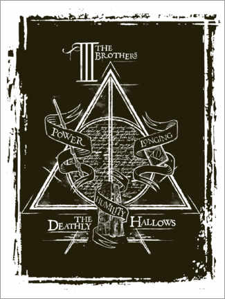 Poster Premium  Peverell family - The Deathly Hallows