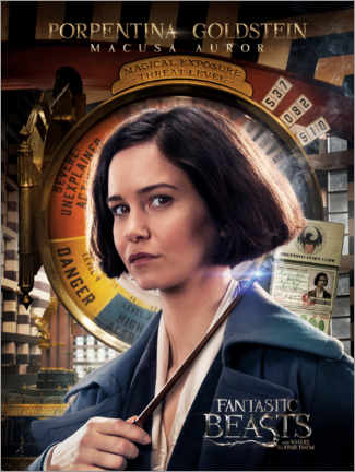 Poster Premium  Fantastic Beasts and Where to Find Them - Porpentina Goldstein