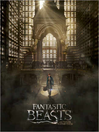 Poster Premium  Fantastic Beasts and Where to Find Them - Newt