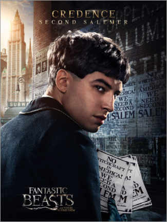 Poster Premium  Fantastic Beasts and Where to Find Them - Credence Barebone