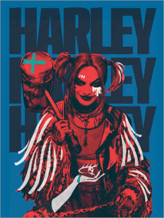 Poster Premium  Mad Harley