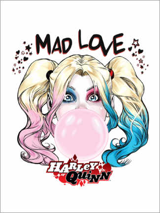 Poster Premium  Mad Love Harley