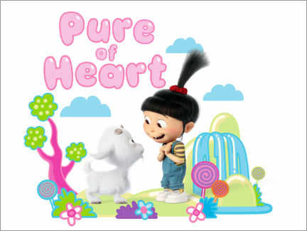 Poster Premium  Agnes, pure of heart
