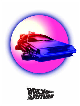 Stampa su tela  Back to the future (Ritorno al futuro)
