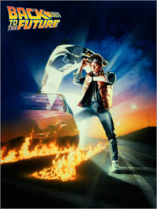 Poster Premium  Back to the future (Ritorno al futuro)