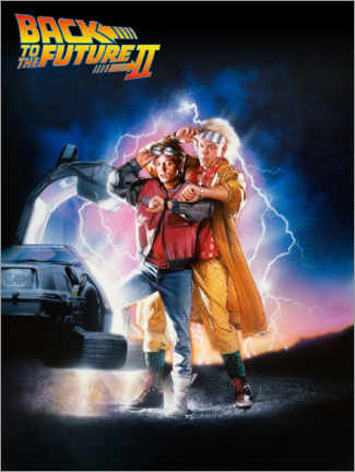 Poster Premium  Back to the future II (Ritorno al futuro II)