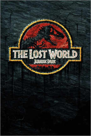 Poster Premium  The Lost World - Jurassic Park