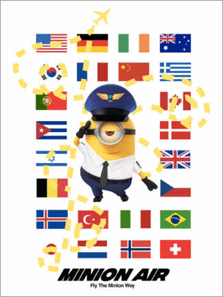 Stampa su PVC  Minion Air