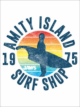 Poster Premium  Amity Island Surf Shop