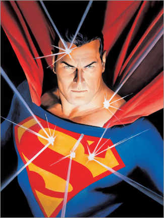 Poster Premium  Superman - Man of Steel