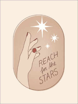 Poster Premium Reach for the Stars