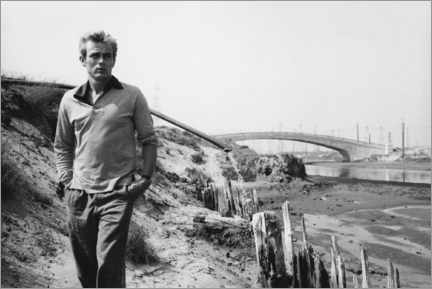 Stampa su tela  James Dean - Sanford Roth