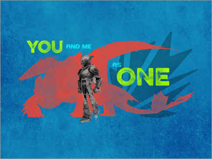 Poster Premium  You and me as one