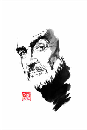 Poster Premium  Sean connery - Péchane