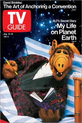 Poster Premium  ALF - My Life on Planet Earth - TV Guide