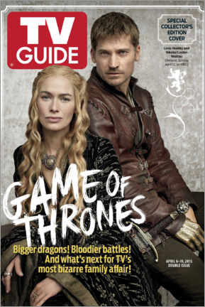 Adesivo murale  Game of Thrones - Bigger dragons - TV Guide