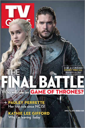 Poster Premium  Game of Thrones - The final battle - TV Guide