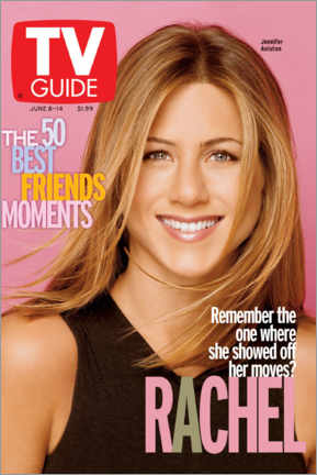 Stampa su legno  Rachel - Friends - TV Guide