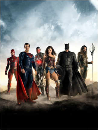 Stampa su PVC  The Justice League