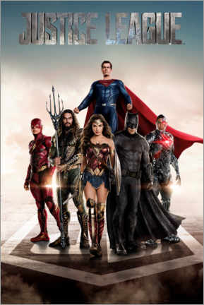 Poster Premium  DC Justice League Movie poster