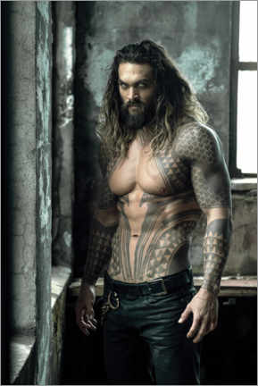 Stampa su plexi-alluminio  Jason Momoa is Aquaman