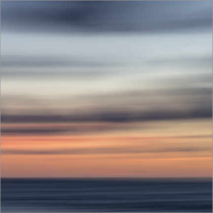 Poster Premium Play of colors by the sea I